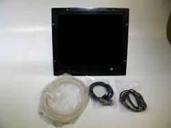 Jakob/hatteland Glass Bridge 19 Display Hd19t03 Coba + Cables Tested Working