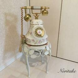 Noritake Pottery Telephone Collection Antique White Vintage