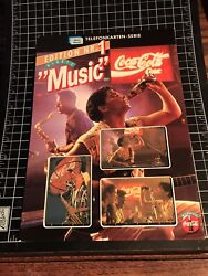 1st Issue 95 Coca-cola Telefonkarten Music Phonecard Series Tough Find Limited E