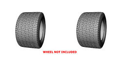 2 Two 24x12.00-12 24x12-12 D838 Lawn Mower Turf Tires Heavy Duty 6ply Rated