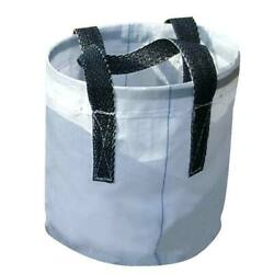 Carry All Reusable Tote Bag Multi Purpose Storage Bin Heavy Duty 12 In Round
