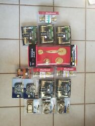 Various Door Handles And Locks Lot Greater Than 400 Retail New - Local Pickup