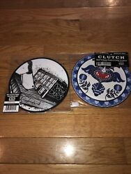 """Clutch Lot Of 2 Vinyl 7"""" 45 RPM Pigtown Blues How To Shake Hands Gimme NM $30.00"""