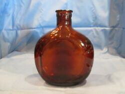Free Shipping Vintage Amber 1950's Old Forester Whiskey Bottle Brown Forman