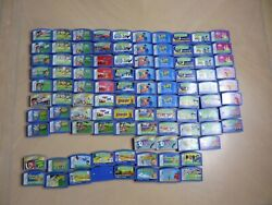Large Lot Of 102 Leapster Game For Leap Frog Learning Game System