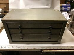 Machinist Tool Lathe Mill Bench Top Drill Cabinet Index Holder Ofce A