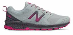 New Balance Women#x27;s FuelCore NITREL Trail Shoes Blue with Grey