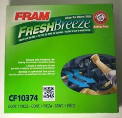 1 Fram Cf10374 Fresh Breeze Cabin Air Filter With Arm And Hammer New