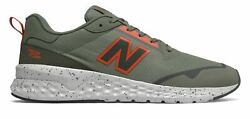 New Balance Men#x27;s Fresh Foam 515 Sport v2 Shoes Green with Brown amp; Green