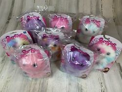 Lot Of 8 New Pomsies Plush Wearable Interactive Cat Toys Pets Free Shipping