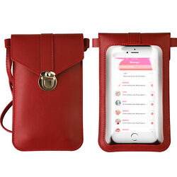 Touch Screen Cross Body Cell Phone Purse Bag Shoulder Strap Pouch Wallet Women $6.85