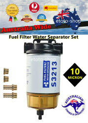 S2313 Boat Fuel Filter Marine Fuel Water Separator Mercury / Yamaha Outboard