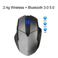2.4ghz 4000dpi Wireless Optical Mouse Mice Ergonomic Usb Receiver Gaming Mouse