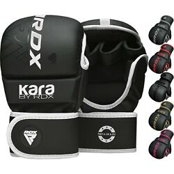Rdx Mma Gloves Grappling Sparring Martial Arts Cage Fighting Bag Training Mitts