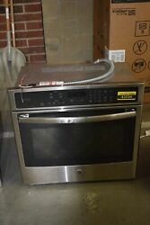 Ge Profile Pt7050sfss 30 Stainless Single Convection Wall Oven Nob 43594 Hrt
