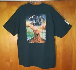 Dreamblade Collectable Miniatures Game Rare Promo T-shirt Menand039s Xl ☆ 2-sided