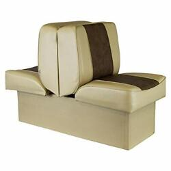 Wise 8wd707p-1-662 Deluxe Lounge Seat Sand/brown 10 High Base