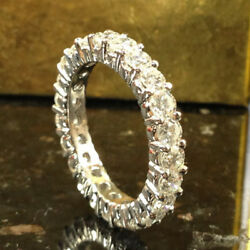 2.00 Carat New Genuine Diamond Engagement Ring Solid 14k White Gold Size M N O P