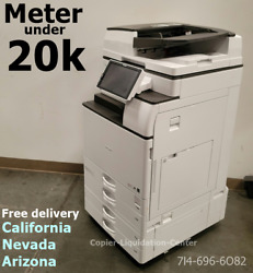 Ricoh Mp4054 Mp 4054 Copier Print Scan 40 Page Per Minute - Just Under 20k Meter
