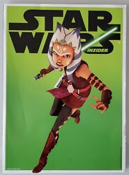 Star Wars Insider 140 Ahsoka Tano Virgin Previews Exclusive Variant Px Unpressed