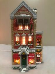 Finklea's Finery Costume Clothing Store Shop Dept 56 Village Lighted House 54054