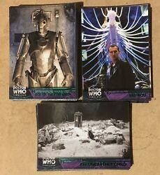Huge 50 + Card Doctor Who Timeless Green Parallel Lot