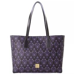 Nwt Disney Parks Dooney And Bourke 2020 Haunted Mansion Wallpaper Tote Sold Out