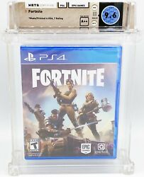 Ps4 - Fortnite - Factory Sealed - Wata 9.6 A++ - Epic Games 2017