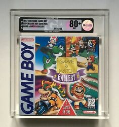 Game And Watch Gallery Nintendo Game Boy Vga 80+ Nm H-seam Factory Sealed New Rare