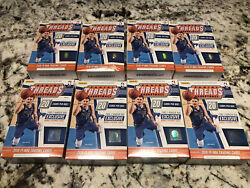 🔥📈lot 8 2018-19 Panini Threads Sealed Hanger Box Possible Luka Young Rc🔥📈