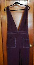 Wild Fable Womens Jumper Overalls 4x Burgundy Overalls Corduroy