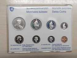 Switzerland Currency Coin Set 1979 Brilliant Uncirculated 886 Swiss Francs