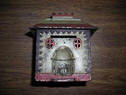 J And E Stevens Co Cromwell Conn Polychrome Crown Bank Building Still Bank