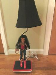 Wonder Woman - End Table / Night Stand Lamp - Custom Made - 18 Tall - New