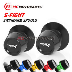 6mm S-fight Swingarm Spools Sliders For Aprilia Rs4 125 20 11-17 13 14 15 16 -mc