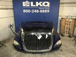 Blue 2013 International Prostar 122 W/ Grille And Headlamps