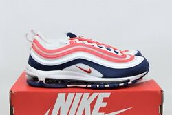 Nike Air Max 97 Usa White University Red Blue Black Cw5584-100 Menandrsquos