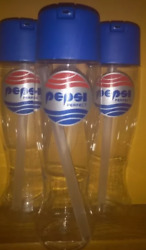 Lot 10 Pepsi Perfect Plastic Bottle Back To The Future Argentina Edition