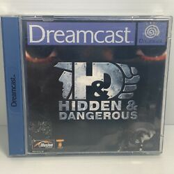Hidden And Dangerous + Manual - Pal - Sega Dreamcast - Free Tracked Postage