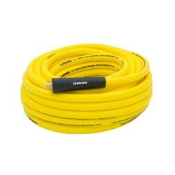 Husky Air Hose 3/8x50 Ft Hybrid Rubber Pvc Compressor Tool Accessories Yellow