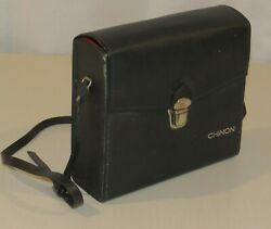 Chinon 722p Xl Power Zoom Super 8 Movie Camera In Case - Vintage