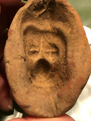 Pre Columbian Mayan Clay Mold Of Baby Or Bat Over 1,000-2.000 Yrs.old  2.75