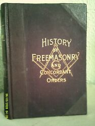 History Of Free Masonry And Concordant Orders -- 1891