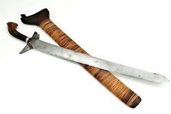 Very Good Asian 19th- Early 20th C. Philippine Moro Sword