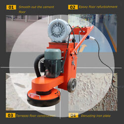 1 Pc Concrete Floor Grinder 220v Electric Polisher W/air Filter Easy Operate
