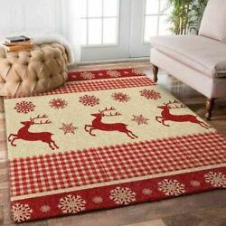 Christmas Rug - Merry Christmas Area Carpet, Gift From Santa Claus,graphic Print
