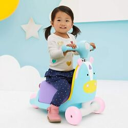Unicorn Scooter Toddler Ride On Toy Learn To Walk 1-3 Years Girls Tots Walker