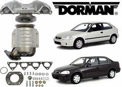 Dorman 674-439 Catalytic Converter With Integrated Exhaust Manifold New Usa