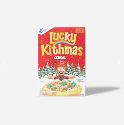 Kith For Lucky Charms Cereal Bundle Dispenser Bowl Cereal Pre-order