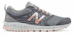 New Balance Womenand039s Fuelcore Nitrel Trail Shoes Silver With Pink